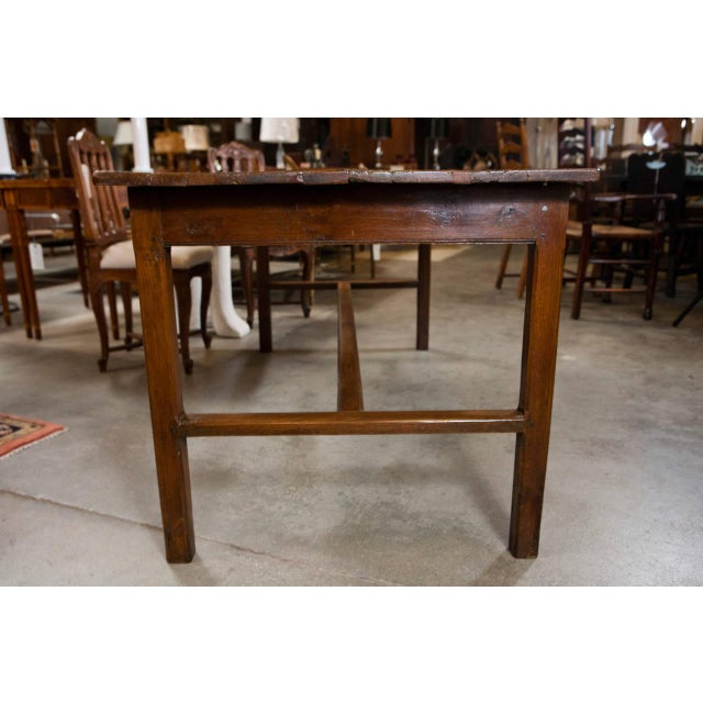 French Fruitwood Farm Table - Image 5 of 6