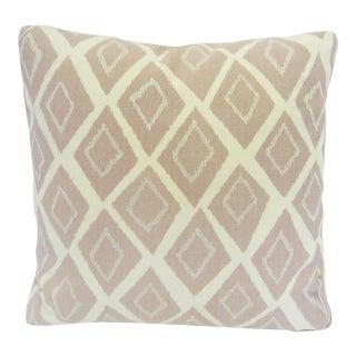 Mid-Century Geometric Pink Pillow
