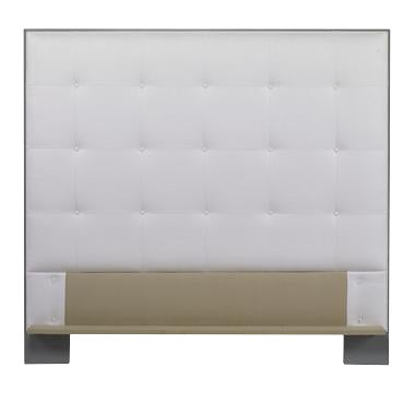 Century Furniture Marin Wood Trim Uph Headboard, Queen For Sale