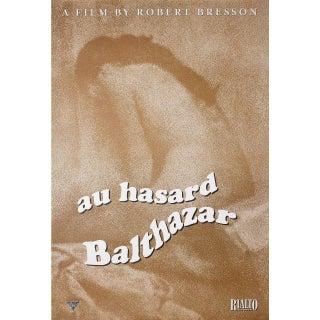 Au Hasard Balthazar R2003 U.S. One Sheet Film Poster For Sale