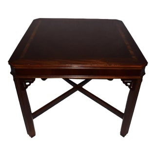 Lane Chippendale Cocktail, Side, End Table For Sale
