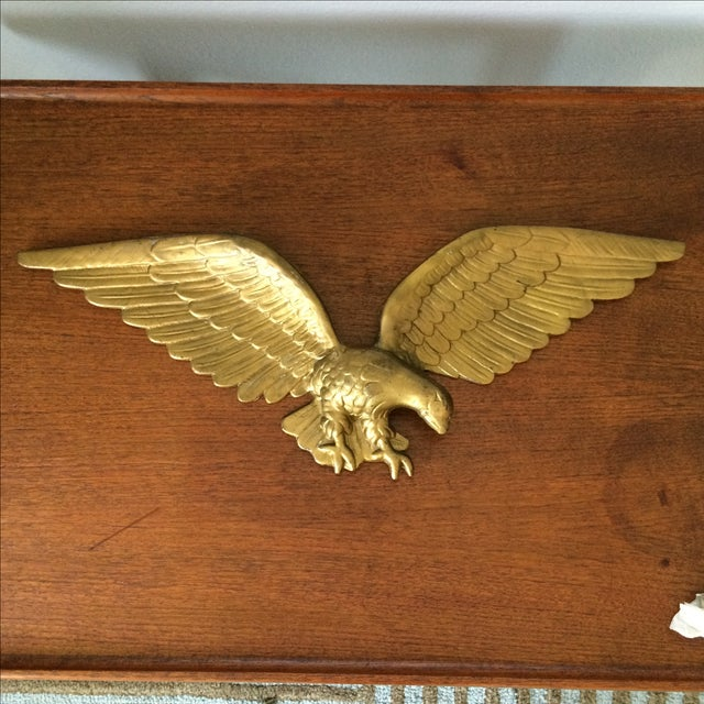 Vintage Gold Metal Eagle - Image 3 of 9