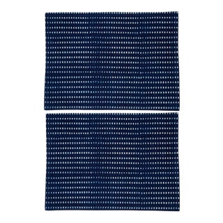 Nisha Placemats Indigo - A Pair For Sale