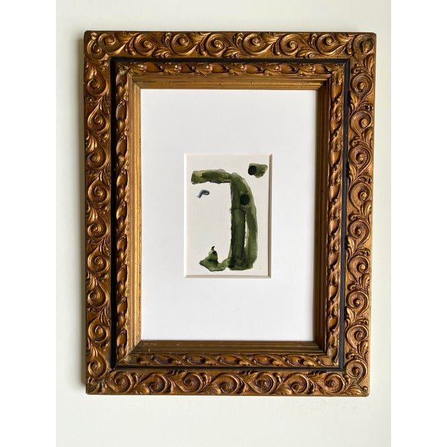 Abstract in Green by Kimberly Moore For Sale - Image 4 of 4