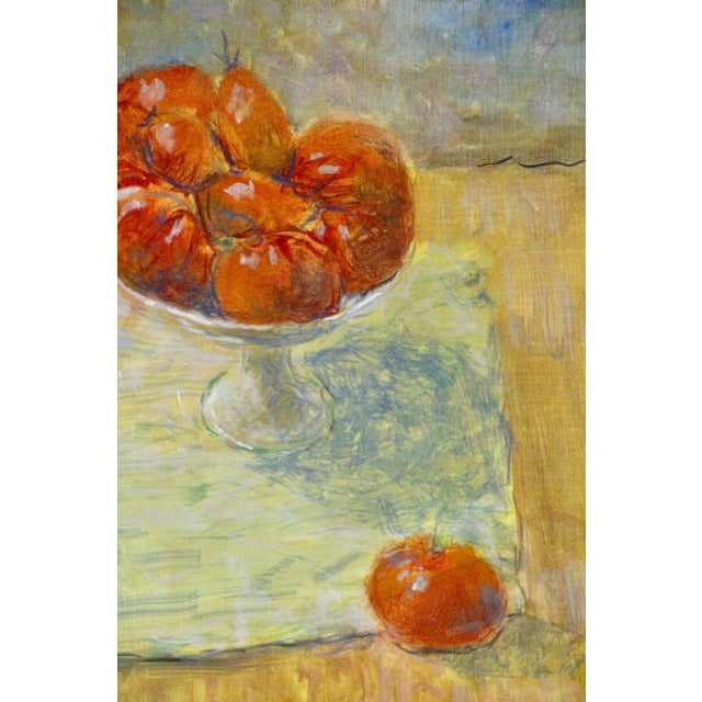 Tomato Still Life Painting For Sale - Image 4 of 7