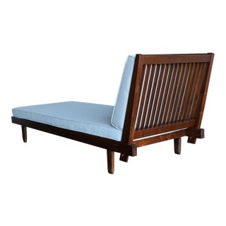George Nakashima Slat-Back Daybed 1956 For Sale
