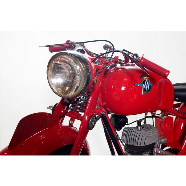 Italian Vintage MV Agusta Motorbike 150CC For Sale - Image 3 of 4
