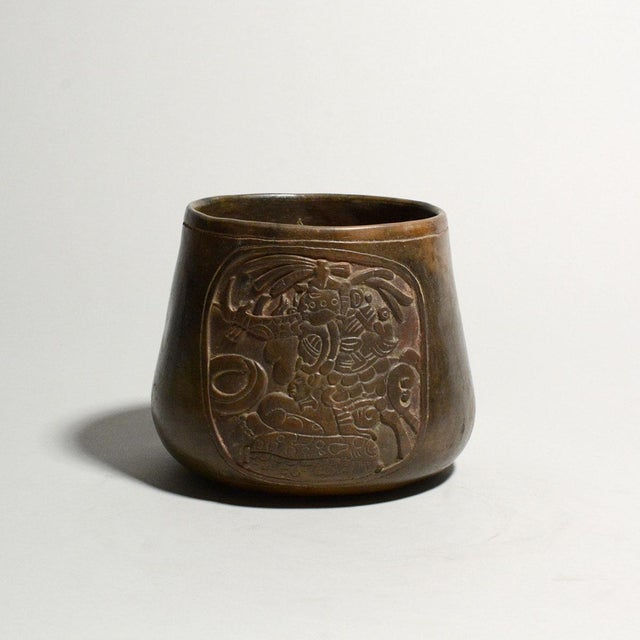 Americana Mayan Terracotta Bowl For Sale - Image 3 of 5