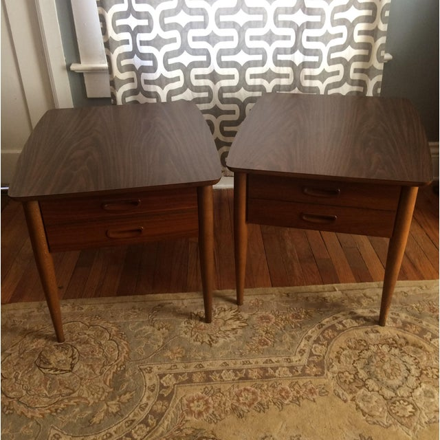 Mid-Century Lane End Tables - A Pair - Image 2 of 9
