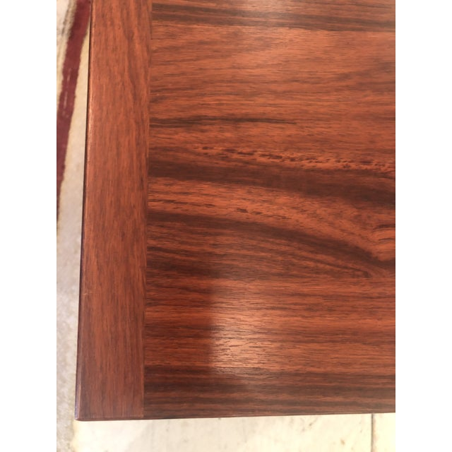 Mobelfabrick Danish Mid Century Modern Richly Grained End Tables - a Pair For Sale - Image 10 of 13