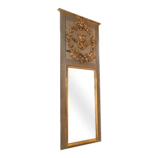 Louis XVI Trumeau Mirror For Sale