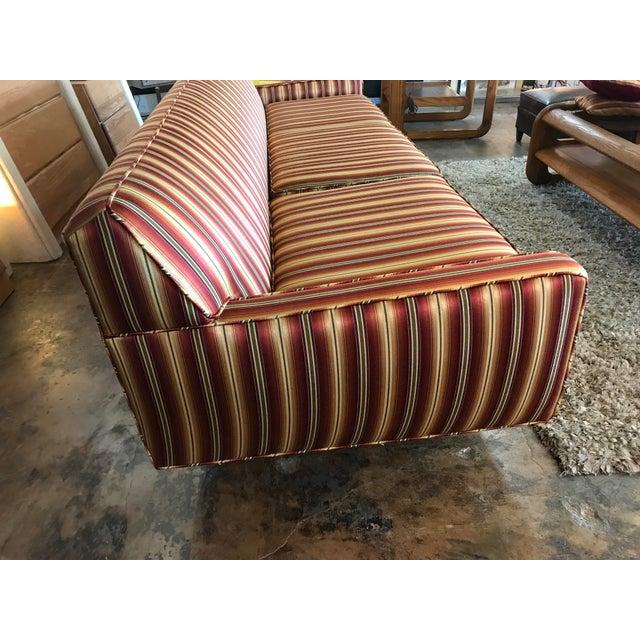 Milo Baughman Mid Century Sofa Style of Milo Baughman For Sale - Image 4 of 8