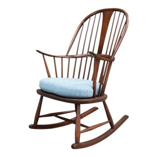 Vintage Mid Century Modern Rocking Chair by Ercol