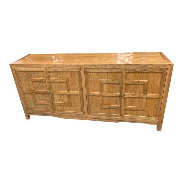 Key Design 4 Door Natural Cabinet For Sale