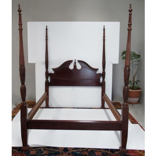 Vintage Colonial Williamsburg-Style 4-Poster Queen Size Bedframe Preview