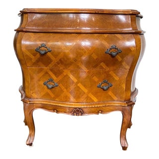 Louis XIV Style Bombe Nightstand For Sale