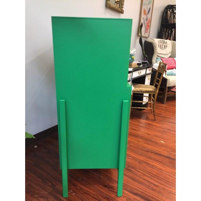 Green Mid-Century Modern Dresser For Sale - Image 4 of 9