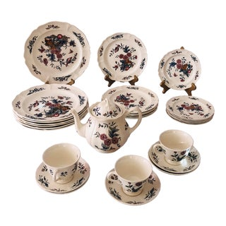 1970s Wedgewood Pot Pourri Dishes - Set of 25 For Sale