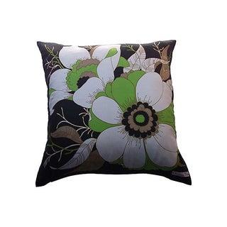 Vintage Dior Floral Scarf Pillow