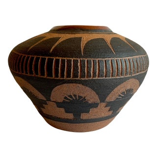 Late 20th Century Studio Pottery Vase For Sale