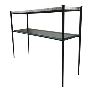 Modern Minimalist Console Table For Sale