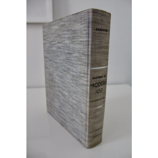 "Modern ""History of Modern Art: Painting, Sculpture, Architecture"" Second Edition by H H Arnason Book For Sale - Image 3 of 11"