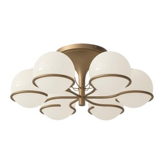 Gino Sarfatti Model 2042/6 Ceiling Light For Sale