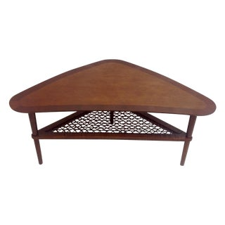 Final Markdown - Danish Modern Boomerang Coffee Table For Sale