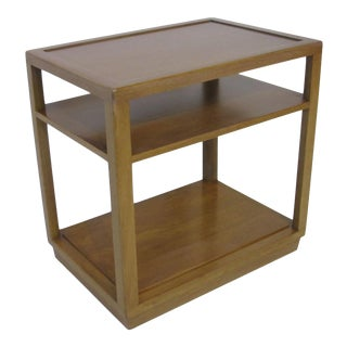 Mid-Century Modern Dunbar Double Tiered End Table by Edward Wormley For Sale