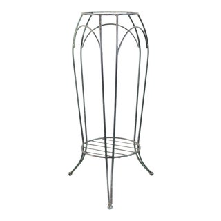 Late 20th Century Wire Plant Stand For Sale