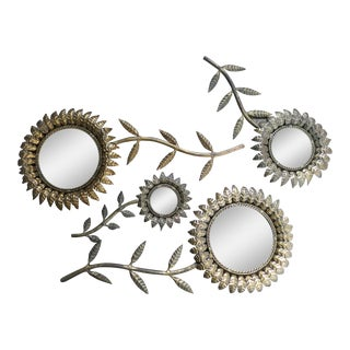 Italian Tole Mirrors - Set of 4 For Sale