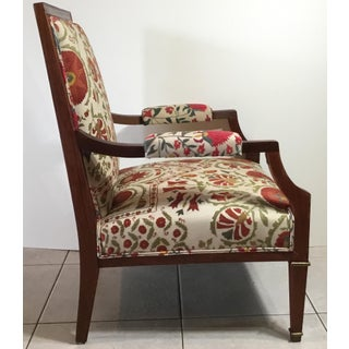 1960s Vintage French Suzani Armchair Preview