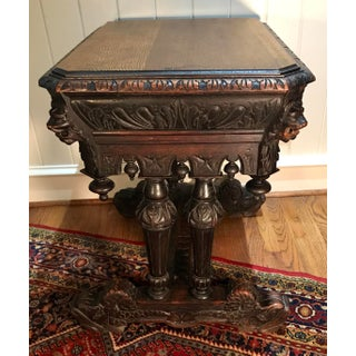 19th Century French Renaissance Dolphin Table Desk Preview