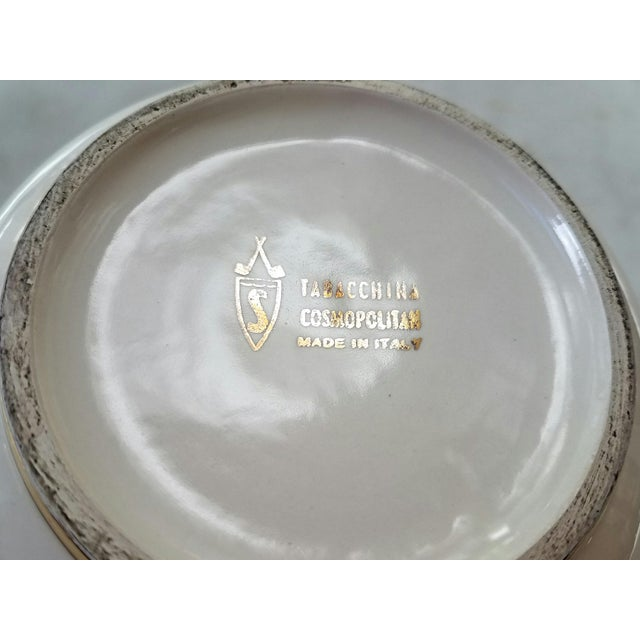 Mid-Century Italian Ceramic Covered Jar For Sale - Image 10 of 11