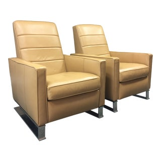 Vanguard Furniture Michael Weiss Collection Tate Recliners - a Pair For Sale