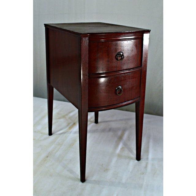 Antique Flint & Horner Nightstand - Image 6 of 8
