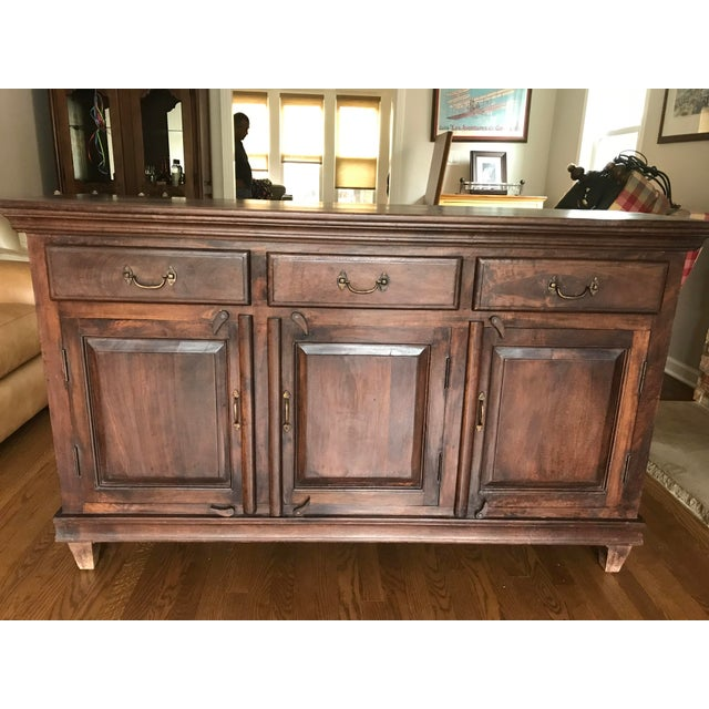 MIG sand TIG sideboard Buffet. Imported from Indonesia. Approx dimensions 61x37x18