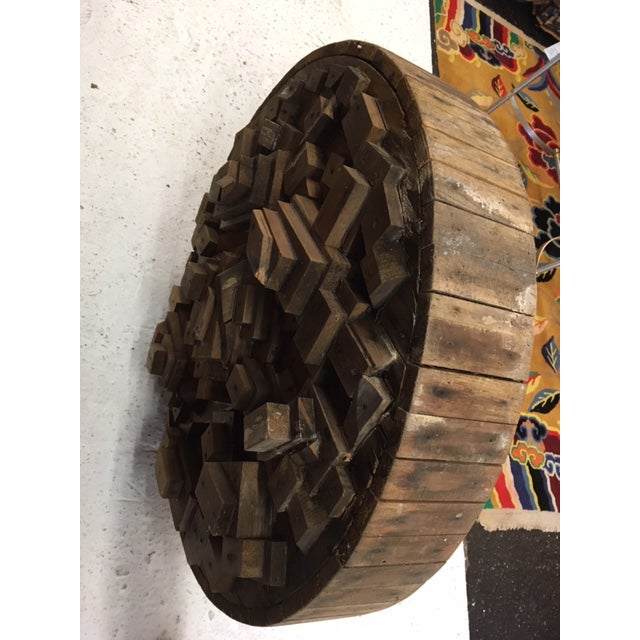 Abstract Wood Sculpture by George J. Marinko For Sale - Image 3 of 6