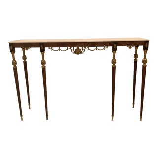 20th Century Italian Console Table For Sale