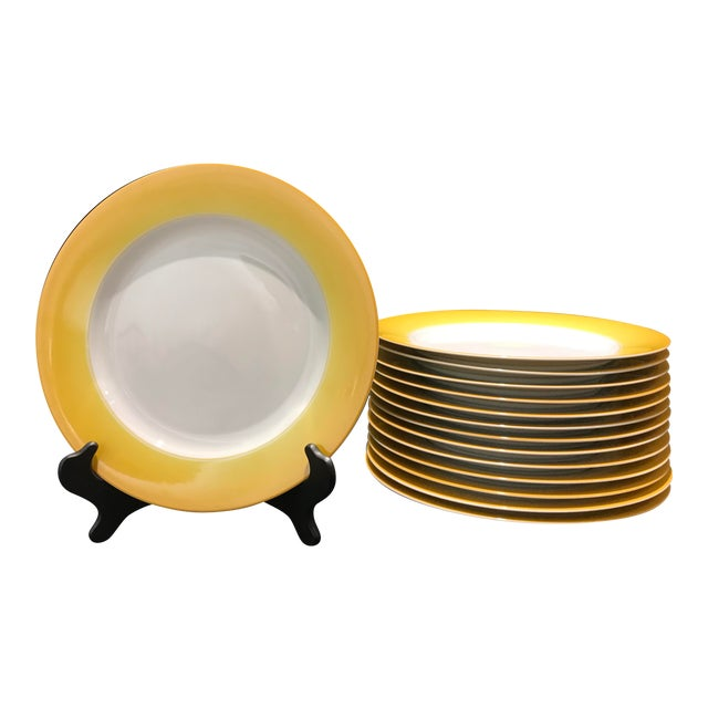 Lynn Chase Yellow Chargers - Set of 14 For Sale
