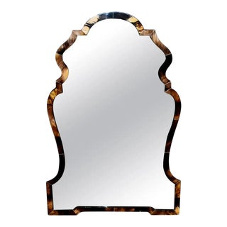 Chippendale Style Horn Mirror For Sale