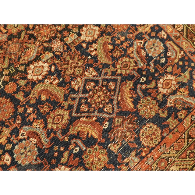 Persian 1900 Antique Persian Fereghan Rug For Sale - Image 3 of 13