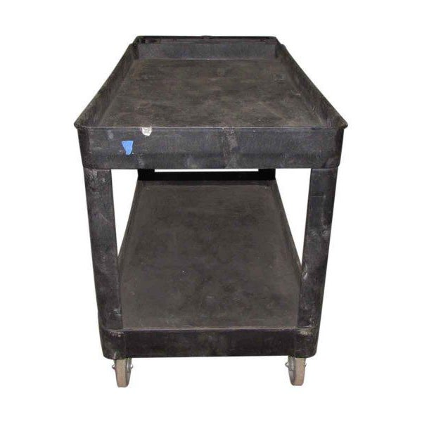 Industrial Plastic Cart With Drawer - Image 5 of 8