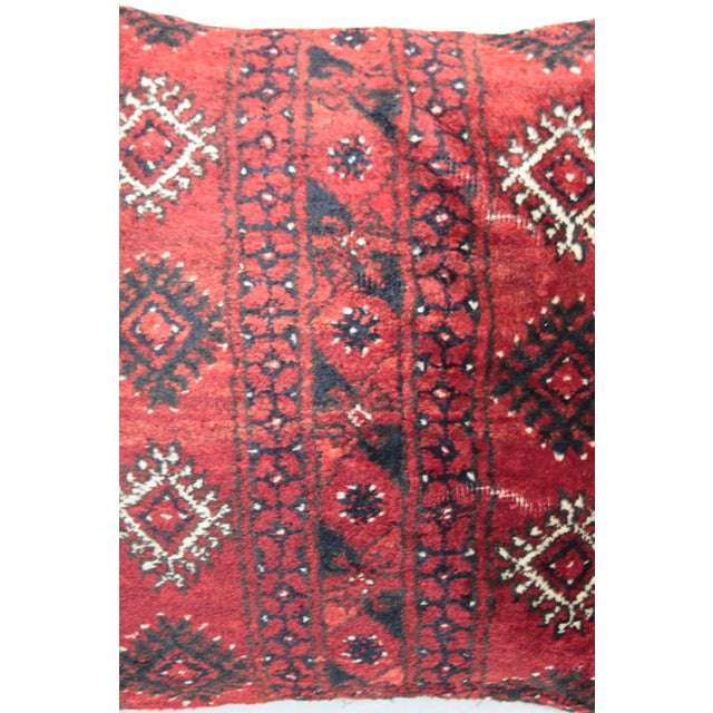 Turkish Decorative Rug Pillow Cover For Sale - Image 5 of 8