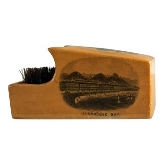 Antique Mauchline Ware Pen Wipe For Sale