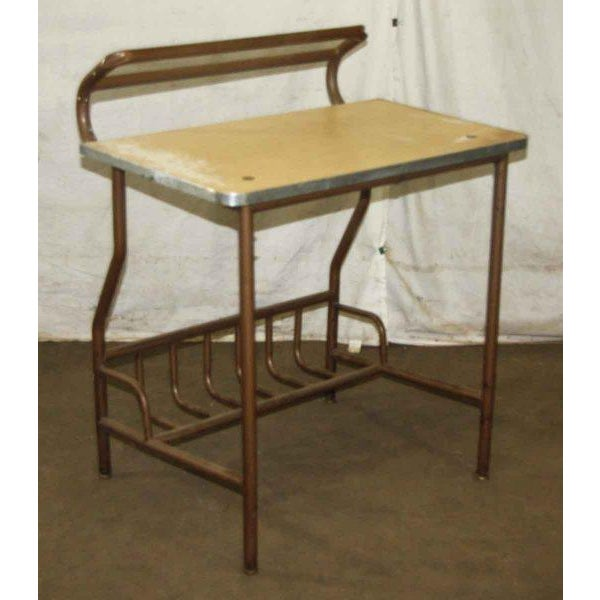 Antique Desk With Storage - Image 2 of 4
