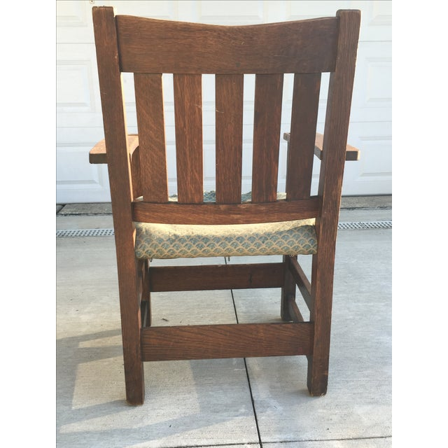 Early 19th-C. Gustav Stickley Armchair - Image 6 of 11