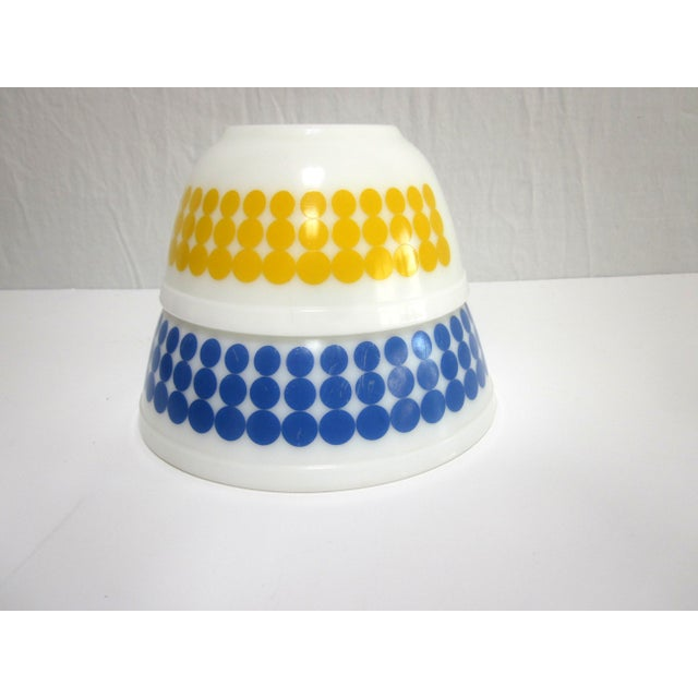 Pyrex Dots Mixing Bowls - Set of 4 - Image 5 of 7