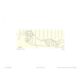 Henri Matisse-Lying Naked-1997 Poster