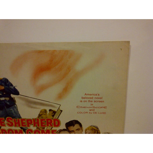 1960 Vintage Movie Poster For Sale - Image 4 of 5